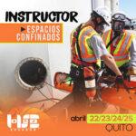 Instructor espacios confinados