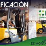 Certificación: Operación de Montacargas